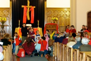 Time with children at worship